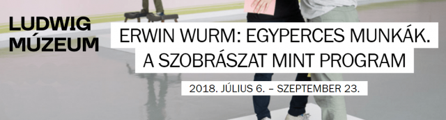 Erwin Wurm: Egyperces munkák, a szobrászat, mint program