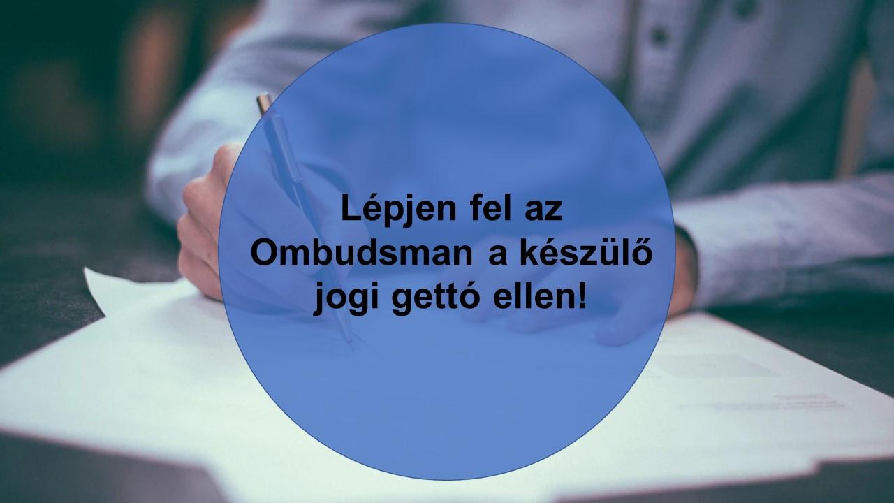 21 civil szervezet írt levelet az ombudsmannak