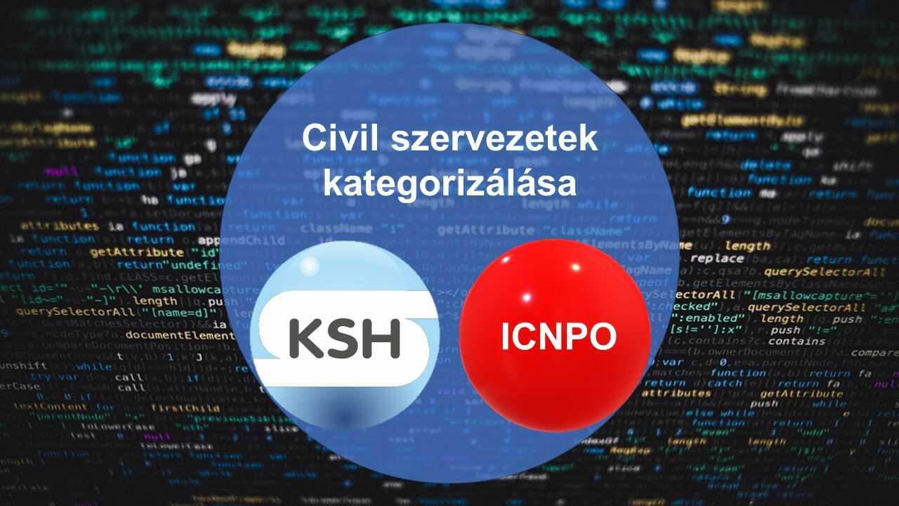 Civil szervezetek kategorizálása az ICNPO és a KSH alapján