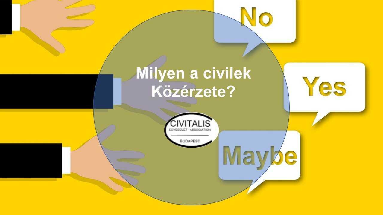 Milyen a civilek közérzete? A Civitalis Egyesület felmérése
