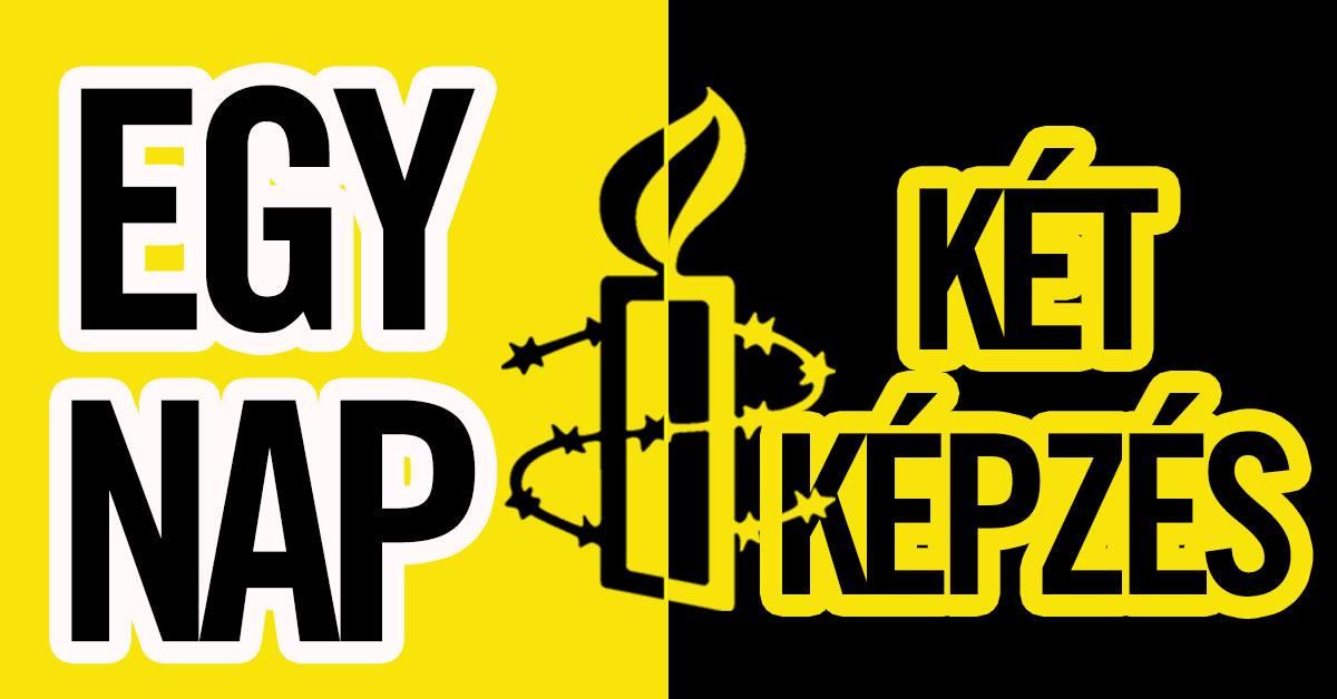 Dupla képzés az Amnesty csapatával