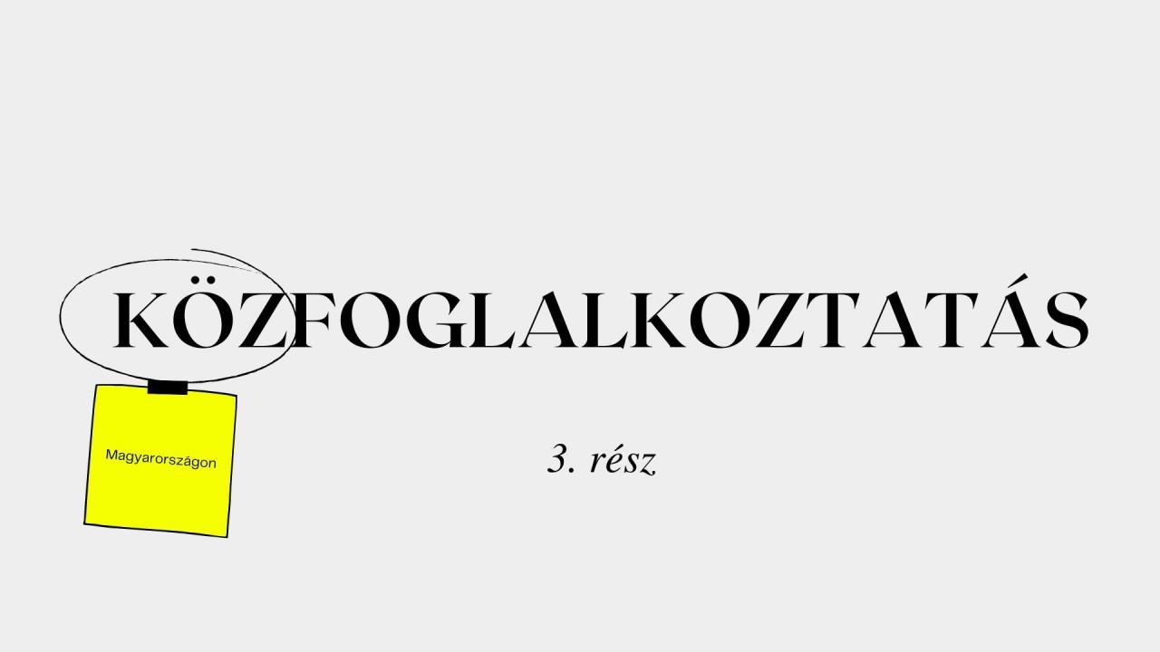 Minden, amit a közfoglalkoztatásról tudni akartál: Hová tart a tranzitfoglalkoztatás Magyarországon? - 3. rész